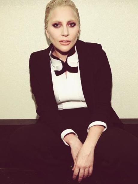Lady Gaga Suit Instagram