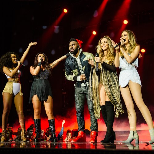 WORLD EXCLUSIVE! Little Mix Perform 'Secret Love Song' With