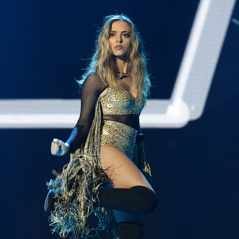 Jade Thirlwall Little Mix Capital Jingle Bell Ball 2015