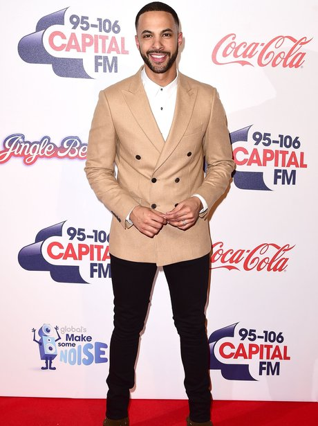 Marvin Humes Red Carpet Jingle Bell Ball 2015