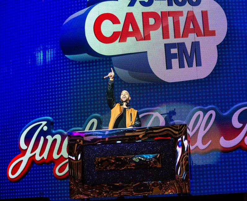 Marvin at the Jingle Bell Ball 2015