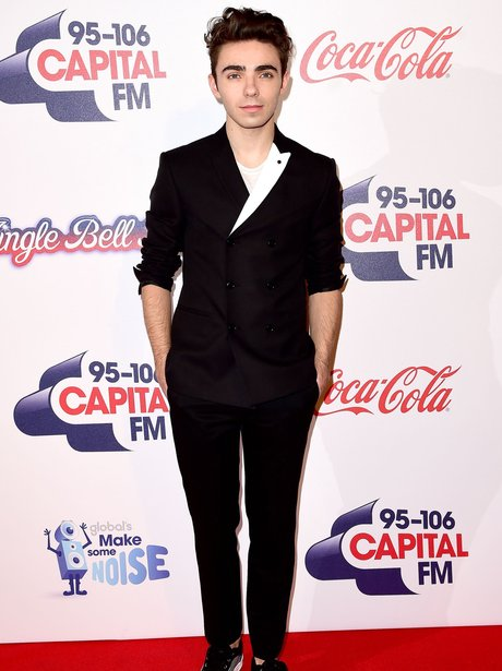 Nathan Sykes Red Carpet Jingle Bell Ball 2015