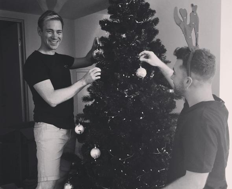 Sam Smith Christmas Instagram