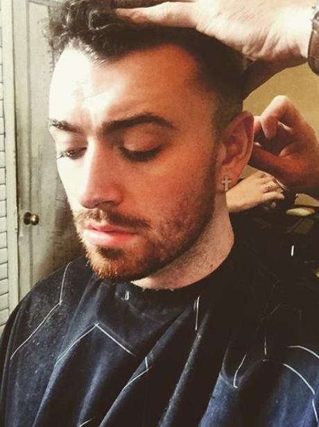 Sam Smith Shave Instagram
