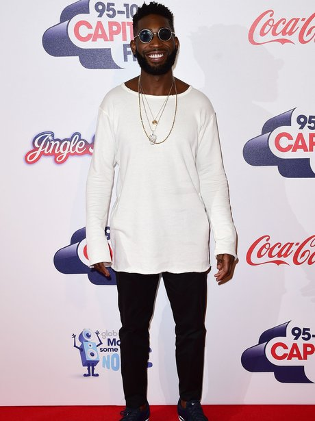 Tinie Tempah Red Carpet Jingle Bell Ball 2015