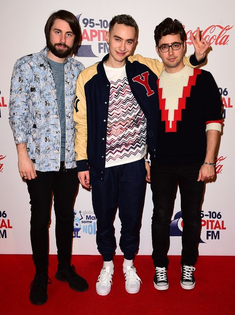 Years & Years Red Carpet Jingle Bell Ball 2015