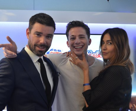 Charlie Puth, Dave Berry and Lisa Snowdon Intervie