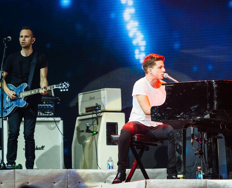 Charlie Puth Jingle Bell Ball 2015 Live