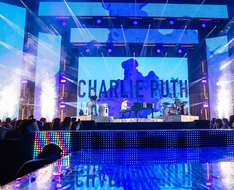 Charlie Puth Jingle Bell Ball 2015 Live