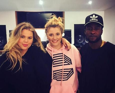 Ella Henderson Grace Recording Studio Instagram