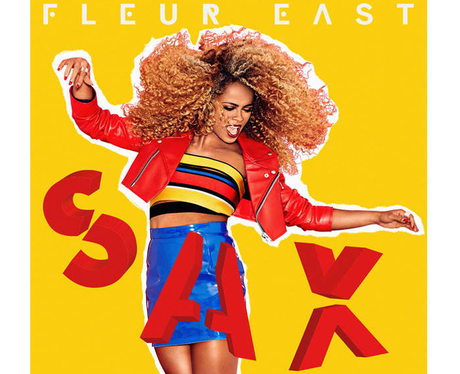Fleur East Sax Capital 2015 Artwork