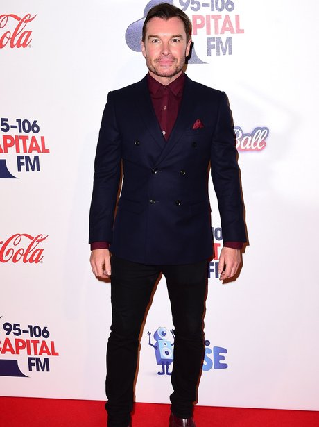 Greg Burns Red Carpet Jingle Bell Ball 2015