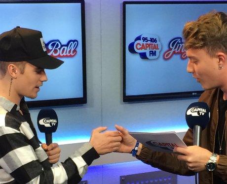 Justin Bieber and Roman Kemp Interview