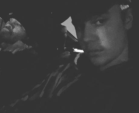 Justin Bieber Arrival Instagram