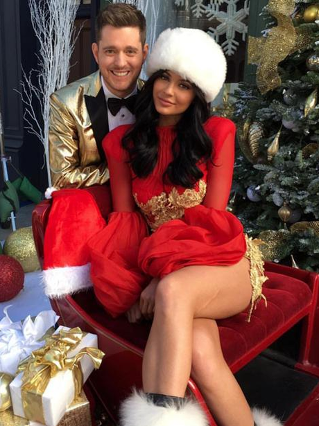 Kylie Jenner Mrs. Claus Instagram
