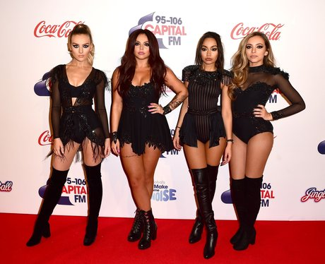 Little Mix Red Carpet Jingle Bell Ball 2015