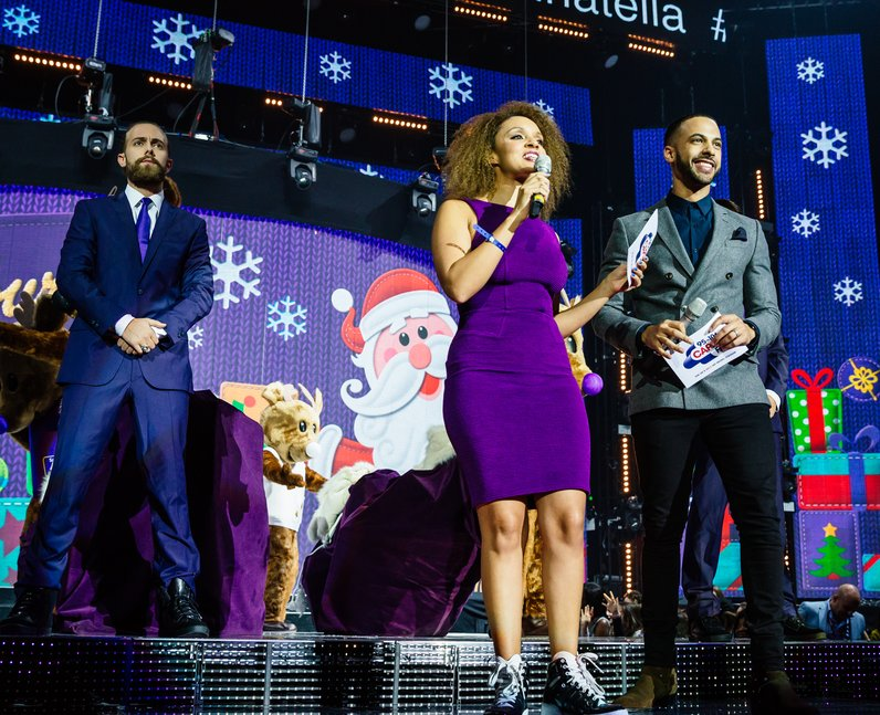 Marvin & Pandora Jingle Bell Ball 2015 Live