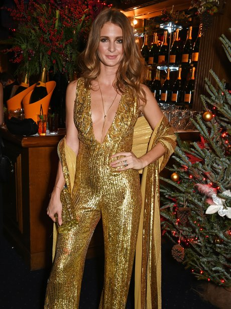 Millie Mackintosh at a christmas party