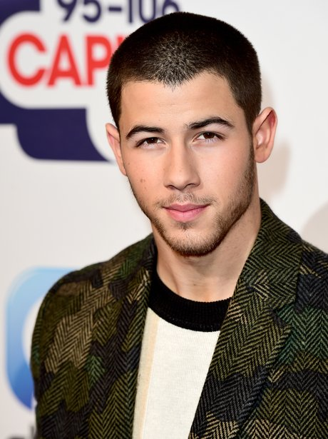 Nick Jonas Red Carpet Jingle Bell Ball 2015