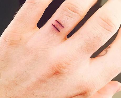 Sam Smith Tattoo Instagram