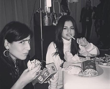 Selena Gomez McDonalds Instagram