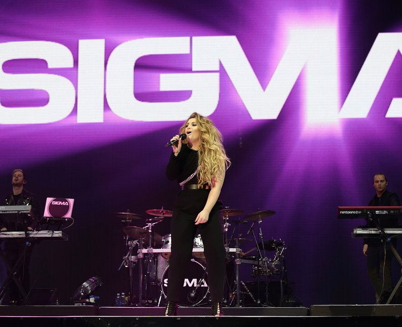 Sigma Ella Henderson Live Jingle Bell Ball 2015