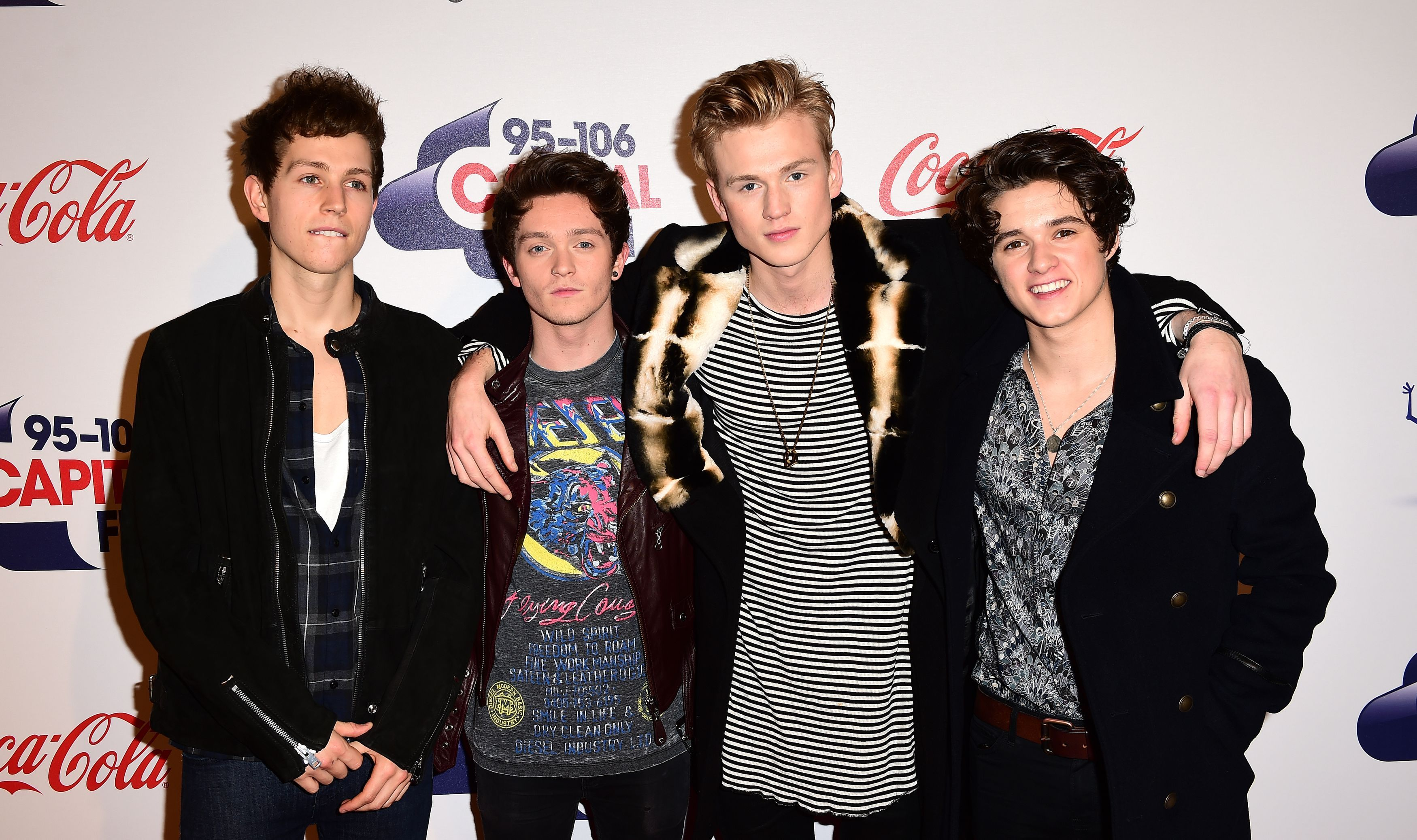 The Vamps Red Carpet Jingle Bell Ball 2015