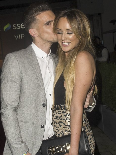 Charlotte Crosby and Gaz BeadleCapit