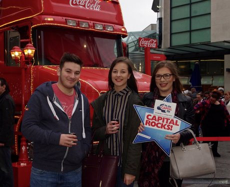 Coca Cola Truck Tour - Highcross Leicester