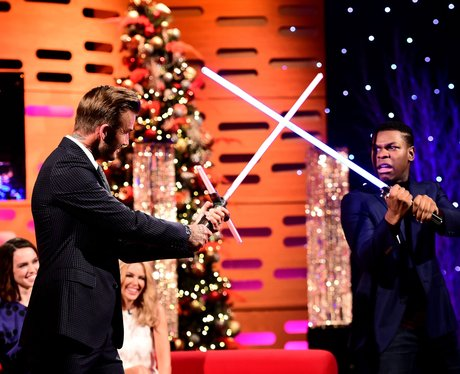 David Beckham and John Boyega Graham Norton Show