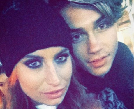 Ferne McCann and George Shelley