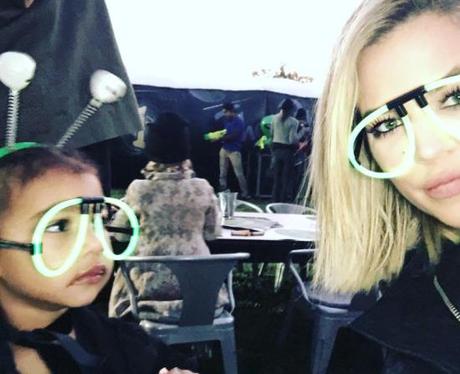 North West and Khloe Kardashian glasses