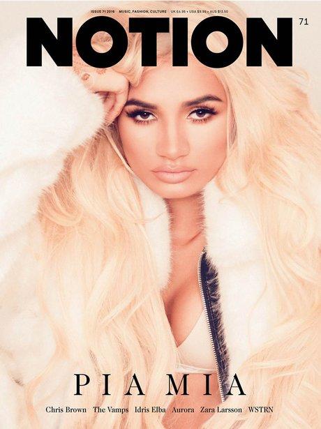 Ariana Grande Notion Magazine