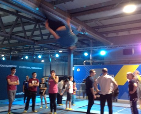 Oxygen Free Jumping Launch
