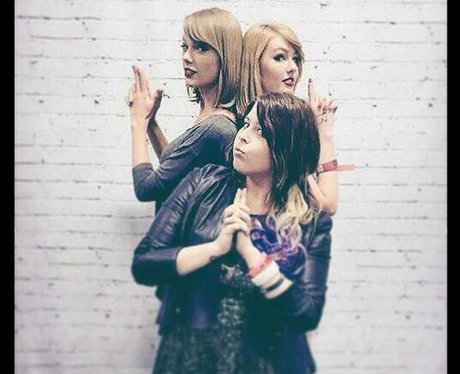 Taylor Swift and Lookalike Instagram