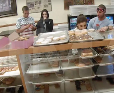 Ariana Grande With Donuts