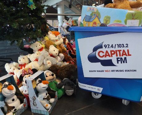 Capital Presents Christmas Treats by St David's