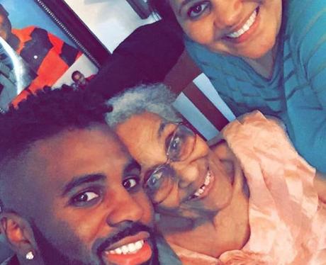 Jason Derulo Grandma Christmas Instagram