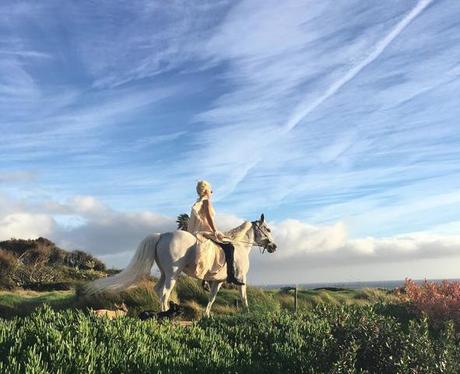 Lady Gaga Pony Instagram