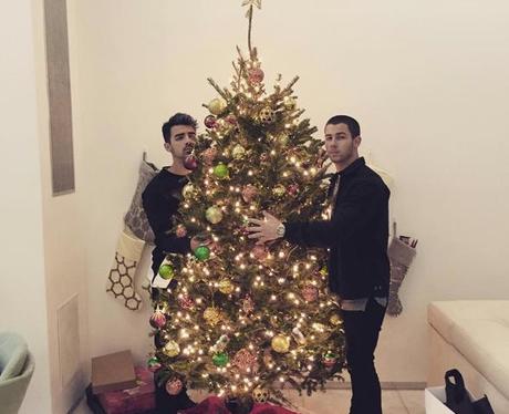 Nick Jonas Christmas Instagram