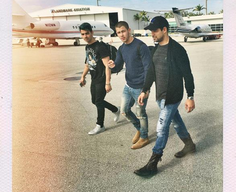 Nick Jonas Wilmer Valderrama Instagram