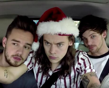 One Direction Christmas Carpool Karaoke