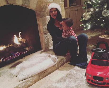 Selena Gomez Christmas Instagram