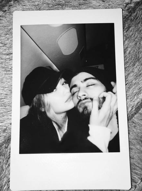 Zayn Malik Gigi Hadid Instagram