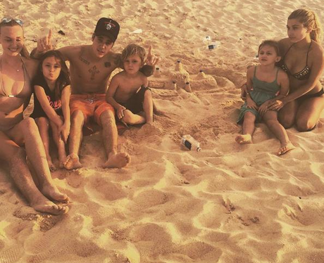 Justin Bieber Family Holiday Instagram