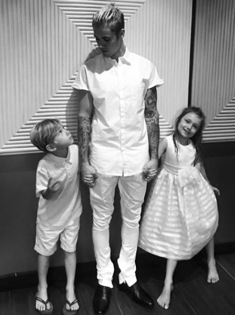 Justin Bieber Siblings Instagram