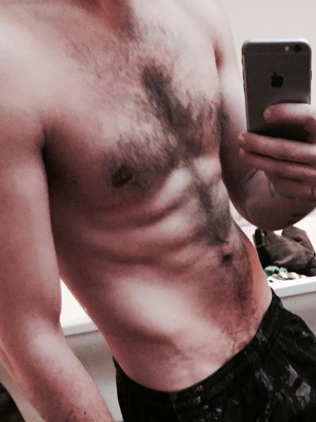 One Direction Liam Payne Topless Instagram