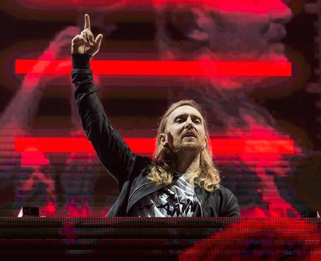 David Guetta performs in Dubai