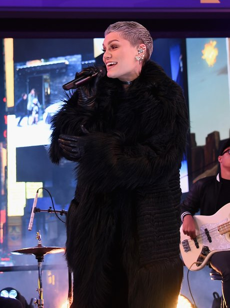 Jessie J, performs on New Year's Eve 2016 in Times