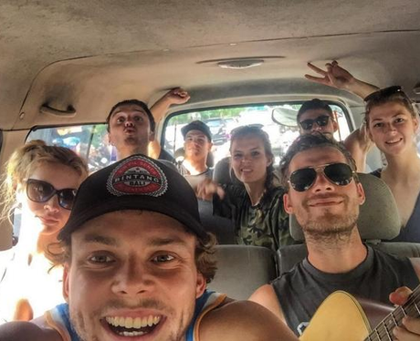 Ashton Irwin & Bryanna Holly selfie